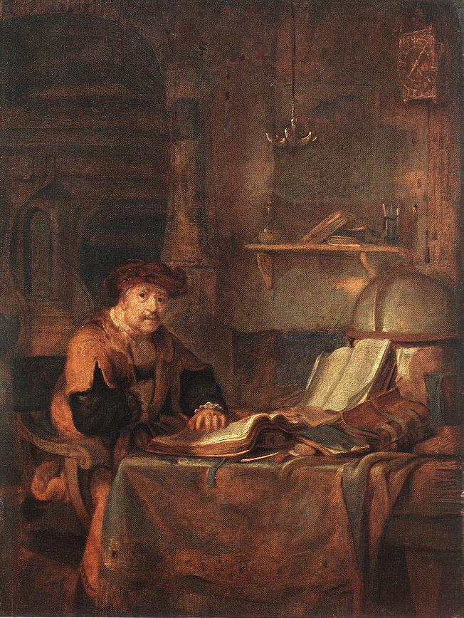 Scholar_with_His_Books_by_Gerbrand_van_den_Eeckhout