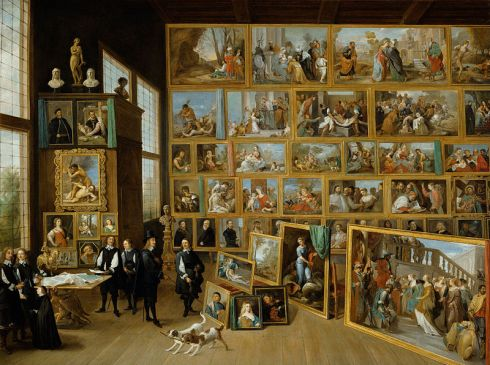 The Art Collection of Archduke Leopold Wilhelm in Brussels