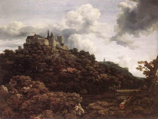 Il_castello_di_Bentheim_(Jacob_Van_Ruisdael)