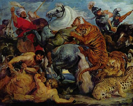 Tiger and Lion Hunt